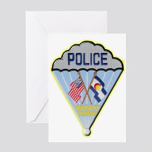 Parachute Police Greeting Card