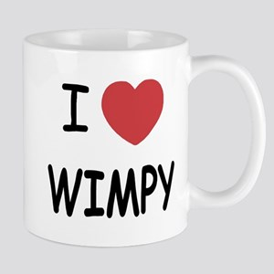 I heart wimpy Mug
