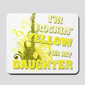 I'm Rockin' Yellow for my Dau Mousepad