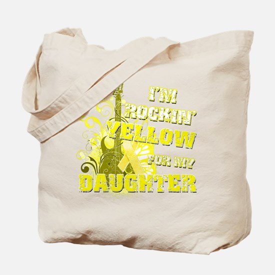 I'm Rockin' Yellow for my Dau Tote Bag