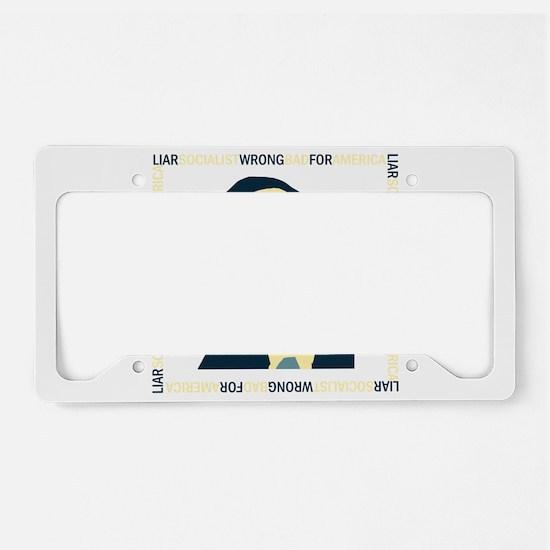 AntiObama 2012 License Plate Holder