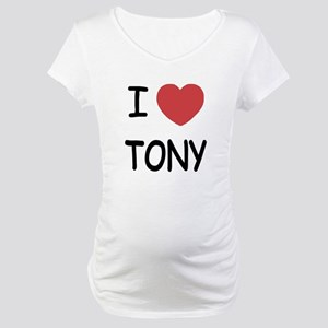 I heart tony Maternity T-Shirt