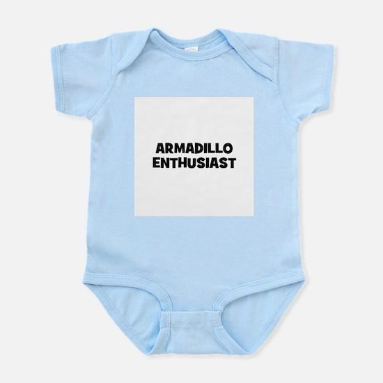 Armadillo Enthusiast Infant Creeper