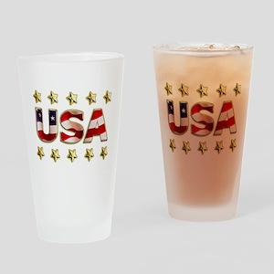 USA Drinking Glass