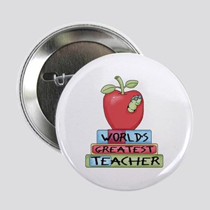 "Worlds Greatest Teacher 2.25"" Button"