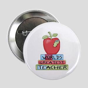 "Worlds Greatest Teacher 2.25"" Button"