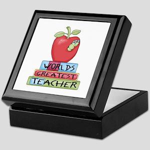 Worlds Greatest Teacher Keepsake Box