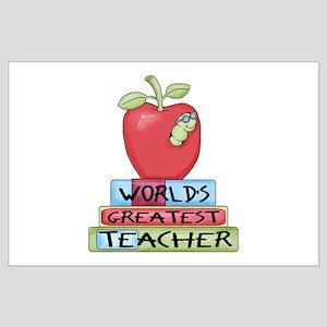 Worlds Greatest Teacher Large Poster
