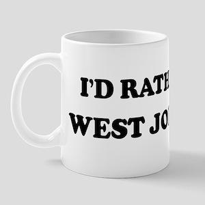 Rather be in West Jordan Mug
