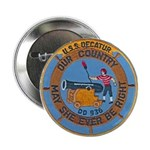 "USS DECATUR 2.25"" Button"