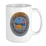 USS DECATUR Large Mug