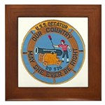 USS DECATUR Framed Tile