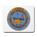 USS DECATUR Mousepad