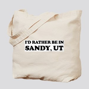 Rather be in Sandy Tote Bag