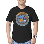 USS DECATUR Men's Fitted T-Shirt (dark)