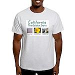 Calif. Golden State t-shirt--ash grey