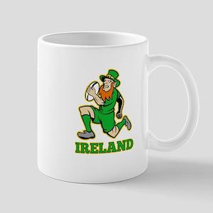 Ireland Leprechaun Rugby Mug