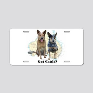 Got Cattle? Aluminum License Plate