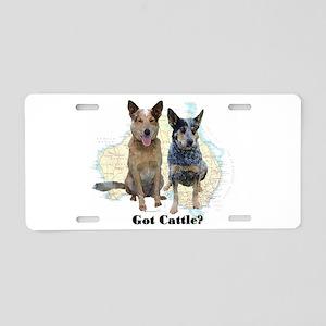 Got Cattle? Aluminum License Plate