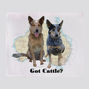 Got Cattle? Throw Blanket