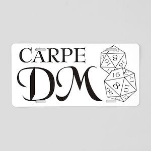 Carpe DM Aluminum License Plate