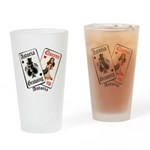 Growing Up Astoria Cards Drinking Glass
