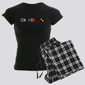Sanibel Island Women's Dark Pajamas