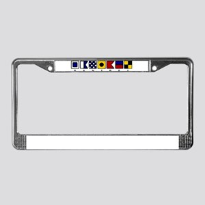 Sanibel Island License Plate Frame
