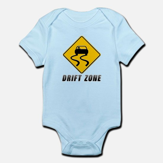 Drift Zone road sign Body Suit