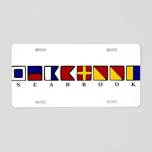 Seabrook Island Aluminum License Plate