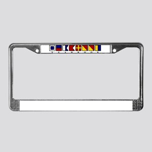 Seabrook Island License Plate Frame