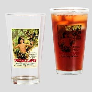 Young Tarzan Drinking Glass