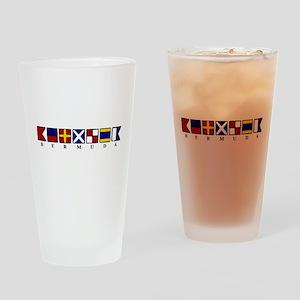 Nautical Bermuda Pint Glass