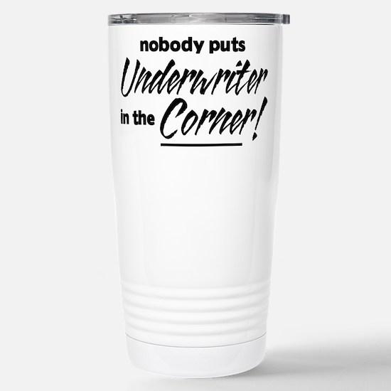 Underwriter Nobody Corner Stainless Steel Travel M