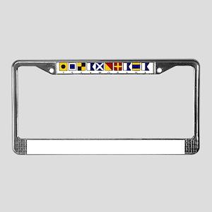 Islamorada License Plate Frame