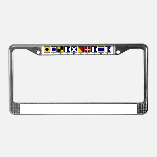 Islamorada License Plate Frame
