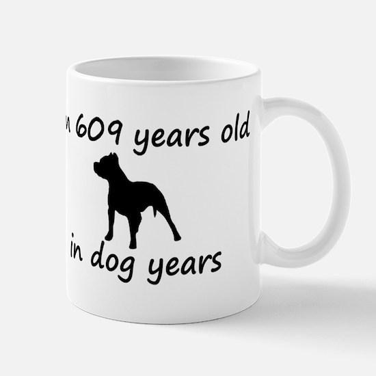87 Dog Years Pitbull 2 Mugs