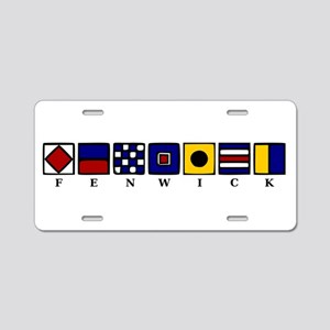 Fenwick Island Aluminum License Plate