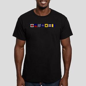 Fenwick Island Men's Fitted T-Shirt (dark)