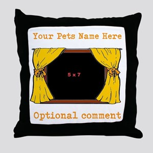 Your Pet's Picture Window Throw Pillow