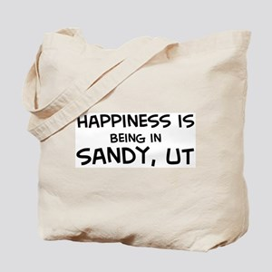 Happiness is Sandy Tote Bag