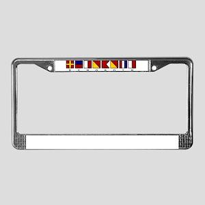 Rehoboth License Plate Frame