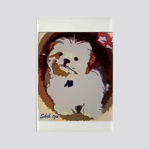 Shihtzu puppy Rectangle Magnet