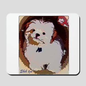 Shihtzu puppy Mousepad