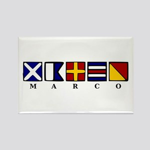 Marco Island Rectangle Magnet