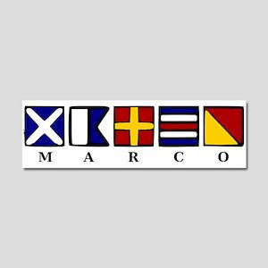 Marco Island Car Magnet 10 x 3