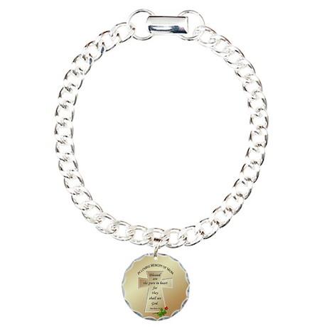 In Loving Memory of Mom Charm Bracelet, One Charm