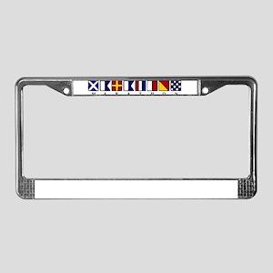 Marathon License Plate Frame