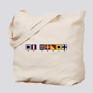 Nautical St. Croix Tote Bag