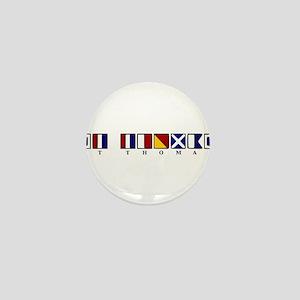 St. Thomas Mini Button